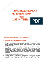 10. Material Requirement Planning (Mrp)