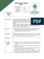 SOP pengelolaan limbah medis.docx