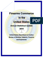 2015 Firearms Commerce in the United States