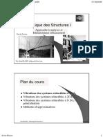 Mecanique Des Structures 1DLppt