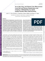 Metabolism of Prazosin in Rat, Dog, and Human Liver Microsomes and Cryopreserved Rat and Human Hepatocytes and Characterization of Metabolites by Liquid Chromatography/Tandem Mass Spectrometry