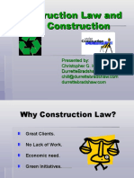 Construction Law and Green Building