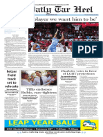 The Daily Tar Heel for Feb. 25. 2016