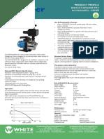 Rainsaver MK5 Data Sheets