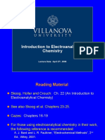 Intro to Electroanalytical Chemistry