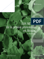 Los Mitos de La Prisión Preventiva en México 2da Edición_ Guillermo Zepeda Lecuona