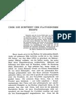 Raeder_Über Die Echtheit Der Platonischen Briefe1