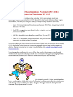 Petunjuk Teknis Pekan Imunisasi Nasional