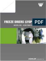 Freeze Drier Lypholizer