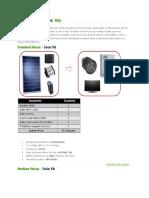 Off Grid Solar Inverter Kits