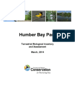 TRCA - Humber Bay Park - Terrestrial Biological Inventory (March, 2014)