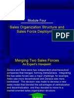 Sales ion Structure(sales and distribution)