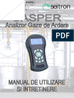 Manual Casper 300