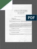 Programa de Programa de EPIS I