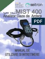 Manual Chemist 400