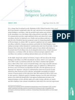 Trends and Predictions in Foreign Intelligence Surveillance