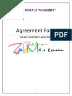 E-commerce Agreement