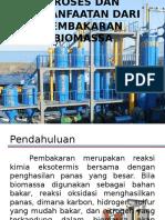 Proses Dan Pemanfaatan Dari Pembakaran Biomassa