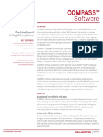Compass Directional Well Path Planning Software Data Sheet