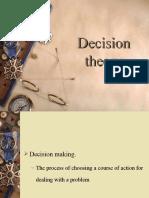 Decision Theoroy