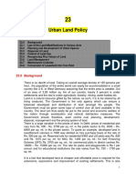 Urban Land Policy