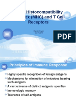 Major Histocompatibility Complex (MHC) and TCR