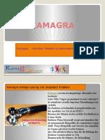 Kamagra ist die meisten Heilmittel bei Impotenz Problem empfohlen.