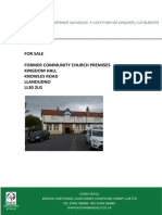 Kingdom Hall For Sale in Llandudno, Wales