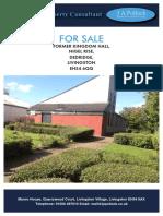 Kingdom Hall For Sale in Livingson, Scotland