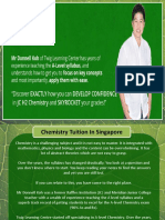 Singapore Chemistry Tuition