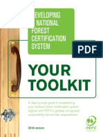 Developing a National Forest Certification System