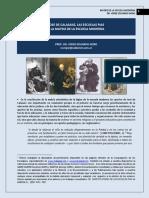 312. JOSE DE CALASANZ, LAS ESCUELAS PIAS Y LA FORMACION DE LA ESCUELA MODERNA.