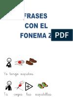 Frases Con El Fonema z