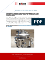 Pulsores Para Transporte Neumático en Fase Densa
