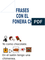 Frases Con El Fonema Ch