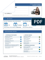 Raport VIN Autodna - Opel