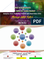 Agenda Lomba SMK Kabupaten Bandung Tahun 2016