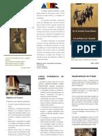 Desdobrável - Leituras d' Oriente e d' Ocidente - Caramulo