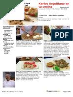 Fasciculo 24-Las Recetas Del 15 Al 19 de Febrero Del 2016