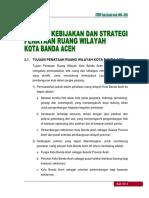 Tujuan, Kebijakan Dan Strategi Penataan Ruang