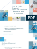How to Write Chapter 3-Methods of Research and Procedures