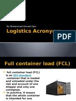 Logistics Acronyms