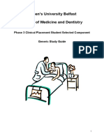 Phase 3 SSC Clinical Placement Study Guide