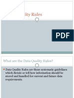 Data Quality Rules