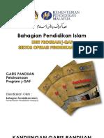 Garis Panduan J-qaf 2015