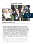 Why Niche Foreign Ties Matter for India _ Editorials _ Hindustan Times