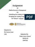 Training program of SAFENET company...