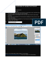 Lesson 2 Overview of Adobe Photoshop Activity 2
