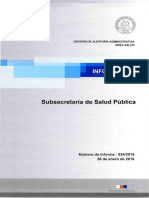 Informe Contraloría Virus Papiloma Humano