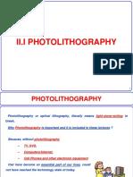 2.1 Photolithograpy v - Ogrc